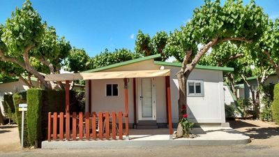 Photo for Camping in Cambrils bungalow of 3 Pers 1 bedroom with bar in the pool.