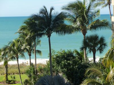 Photo for LaScala 4th Floor Condo, Direct Bay Water & Gulf View!  Steps To Beach!