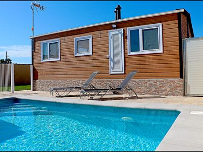 Photo for Bungalow for rent with private pool