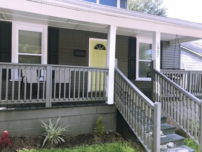 Photo for Bungalow-Close to NC State, Cameron Village, Wake Med, Meredith-Dogs allowed