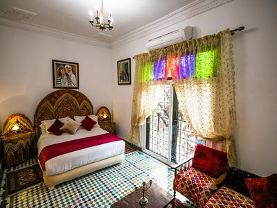 Photo for Small riad with garden and private terrace.