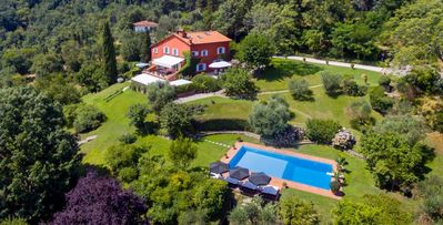 Photo for Villa San Donato- 4 bd spacious villa in Collina with a restored watchtower