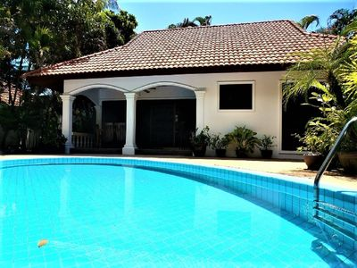 Photo for SUPERB LUXURY VIP 3 BEDROOM VILLA  Beautiful Private Pool & Tropical Garden