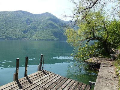 Photo for Vacation home Bella Vista in Gandria - 5 persons, 3 bedrooms