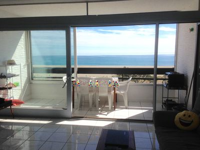 Photo for Magical sea view apartment (180 °)