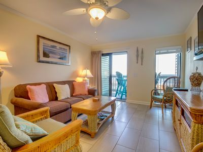 Charming and Refreshing Oceanfront condo At Ocean Forest Villas!