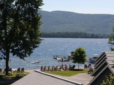 Photo for Lake George Lake View House With Beach And Dock