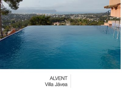 Photo for Spectacular villa with sea views + Infinite pool