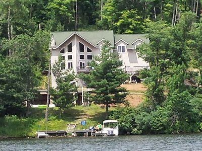 Photo for Eagle View Retreat on Long Lake, Large Vacation Home for Families and Sportsmen