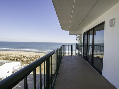Photo for Oceanfront Condo (Side) - Pool, Wi-Fi, Free Linens - Near N. End of Boardwalk!