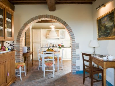 Photo for Seaside villa in the Tuscan countryside