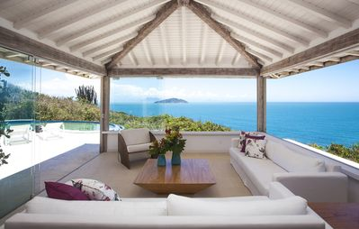 Photo for Unica house built in one of the best beaches of Buzios
