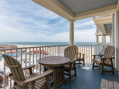 Photo for Stay Oceanside! Gorgeous Boardwalk Condo - Wi-Fi & Rooftop Pool, Ocean Views