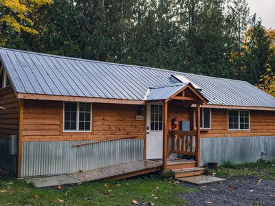 Photo for Secluded Cabin Escape near Olympic National Park