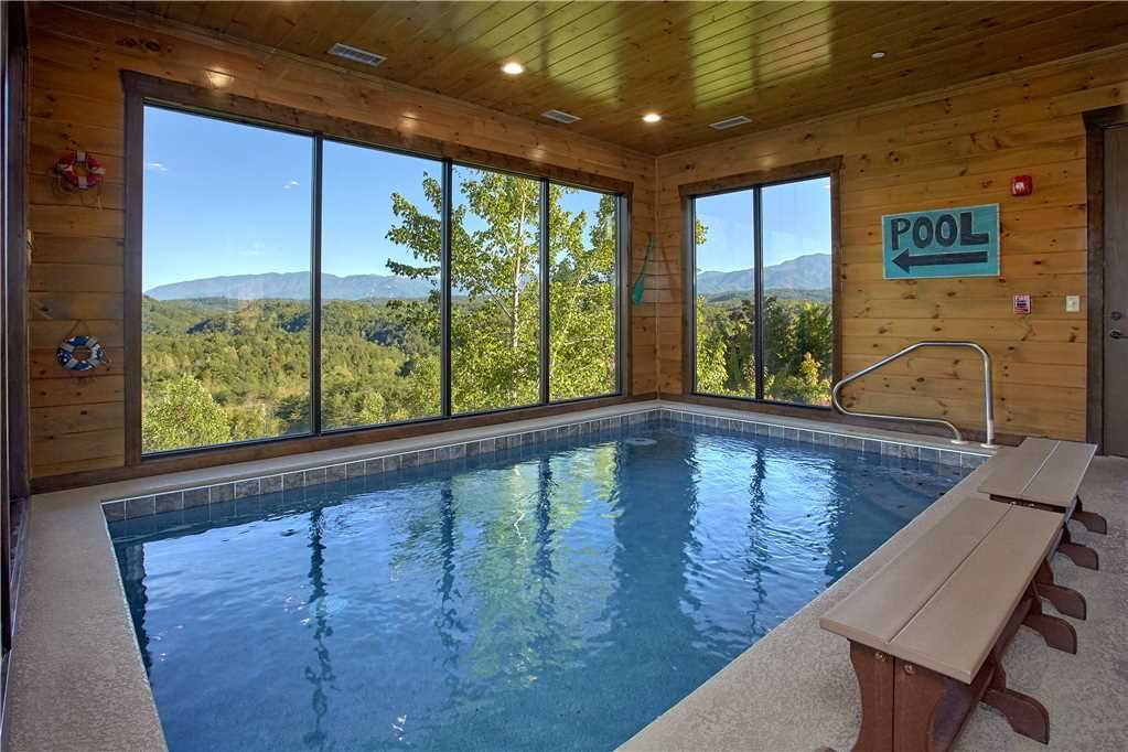 Private indoor pool  Mountain Splash Lodge| Private Indoor Pool|... - HomeAway