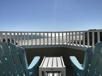 Crows Nest with Amazing view and Brand New engineered Adirondack chairs