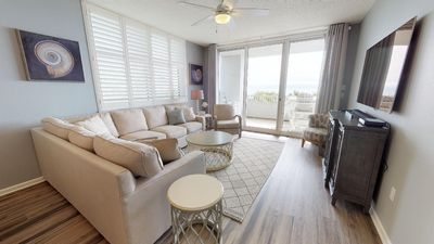 Photo for Enjoy this Charming 3-Bedroom Condo With Amazing Gulf Front Views!