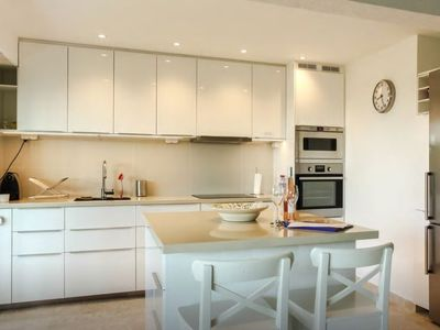 Photo for Antibes Renovated 2 Bedroom In A Quiet Residence With Private Garden And Pool