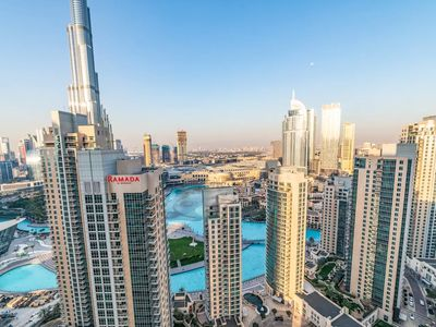 Photo for Splendid 2BR Burj Khalifa & Fountain Views