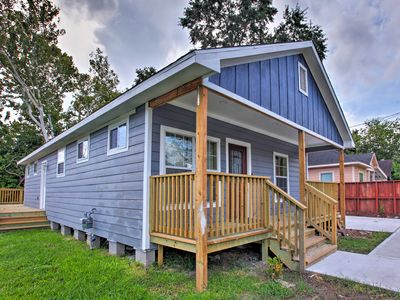 Photo for NEW! Cozy Home w/ Deck - Mins to Downtown Houston!