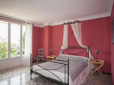 Photo for Cacedes - Bed and Breakfast with panoramic views of the French Riviera