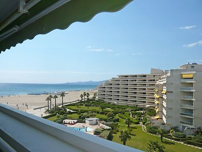 Photo for 2 bedroom Apartment, sleeps 4 in Canet-Plage with WiFi