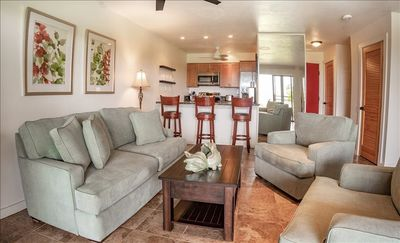 Photo for Gorgeous  1B/!B condo at Ke Nani Kai with an ocean view. Over the top. You will  love your vacation here!