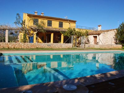 Photo for Country House With Swimming Pool and Jacuzzi Set in the Heart of Mallorca