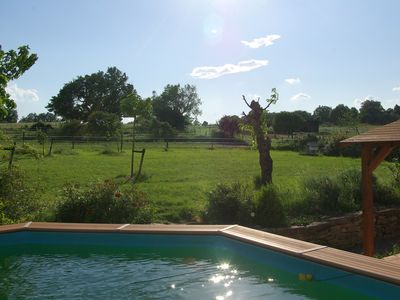 Photo for Farm in the countryside with pool, ideal family holiday