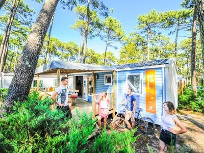 Photo for Camping Le Vieux Port ***** - Mobil Home Resasol 3 bedrooms 6/8 people