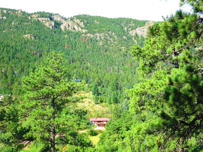 Photo for CASCADE MOUNTAIN RETREAT  GREAT VIEWS AND LOCATION 10 MI TO COLORADO SPRINGS