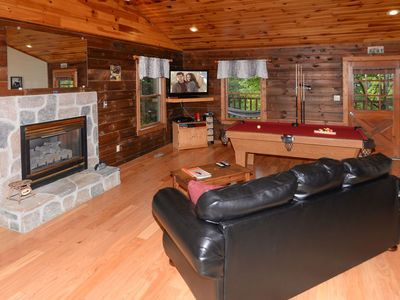 Photo for Love Shack- Cozy, Quiet, Clean Cabin  1 mile to Sevierville Convention.