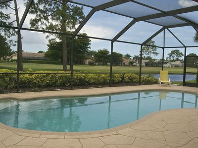 Photo for Private Pool Home w/Golf views in Gated Community