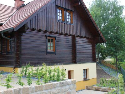 Photo for Apartment with terrace, in the heart of the Elbe Sandstone Mountains, ideal for hiking