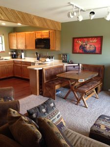 Photo for Spectacular Mountain and Lake View Condo in Soda Springs Ranch