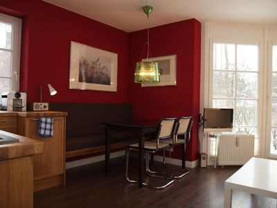 Photo for very nice apartment in quiet location with garden