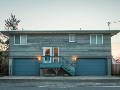 Photo for Slow Down House #124 - Affordable cabin on the canal in Pacific City.. Fun game room!