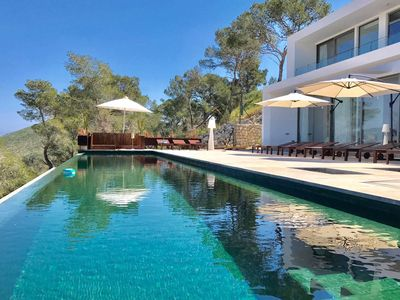 Photo for Villa Minimal, very modern property, with private pool, 5 bedrooms.