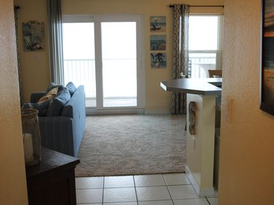 "Photo for Updated - Beach Front,  2br/2ba, Large 27' Balcony, 50"" Smart TV"