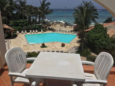 Photo for Two Bedroom Penthouse Apartment no71 with Shared Pool and Panaromic Sea Views