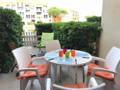 Photo for Apartment Port Barcares, 1 bedroom, 6 persons