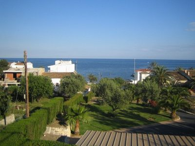 Photo for Friendly apartment with large terrace and fantastic sea views