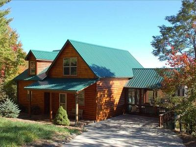 Photo for Wow! Mountain Views West Jefferson, Boone, Todd Cabin Rental