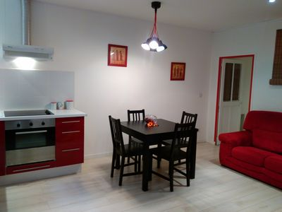 Photo for Pézenas, renovated apartment of 50m², 4 pers