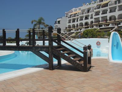 Photo for 2 bedroom apartment in 4 * complex Rocas del Mar, Costa del Silencio Tenerife