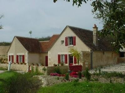Photo for Semi-trolodyte cottage in South Touraine