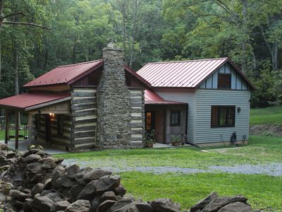Photo for Rustic Comfort in the Woods, Near Washington and Sperryville, VA
