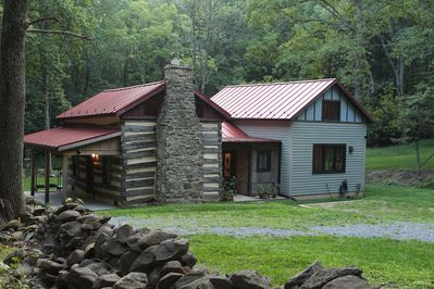 Cabin and its entrances