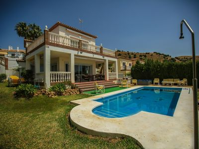 Photo for Stunning 12-14 person Villa over looking the Mediterranean in Calahonda, Spain