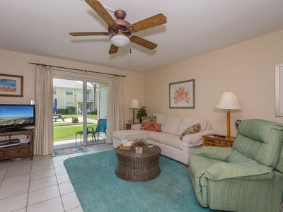Photo for Serenity by the Sea - Ground Floor 1/1 with Views of the Ocean!  Colony Beach Club 109